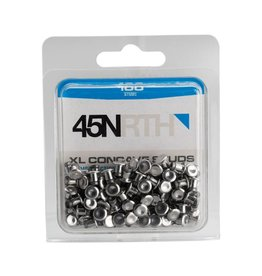 45NRTH 45NRTH XL Concave Carbide Aluminum Studs: Pack of 100