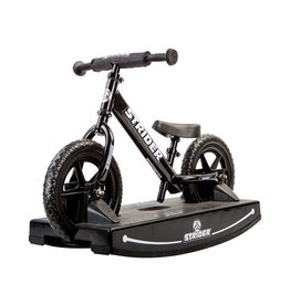 """STRIDER Strider Rocking Base: Black, fits all 12"""" Strider Bikes"""