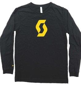 SCOTT BICYCLES Scott Long Sleeve Jersey Tee black / L