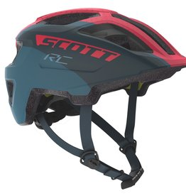 SCOTT BICYCLES Scott Helmet Spunto Junior Plus Dark Ble/Pink 1sz
