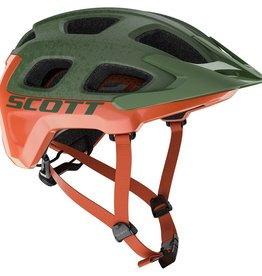 SCOTT BICYCLES Scott Helmet Vivo Plus Metal Green/Orange L