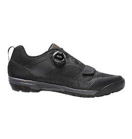 Giro Ventana Fastlace Dirt Shoes - Black/Dark Shadow - Size 43