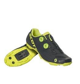 SCOTT Mtb RC Shoe matte black/sulphur yellow 42.0 EU