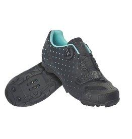 SCOTT BICYCLES SCO Shoe Mtb Comp Boa Lady matt black/turquoise blue 41.0 EU