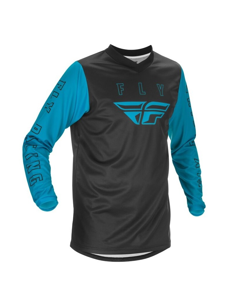 FLY RACING F-16 JERSEY BLUE/BLACK LG