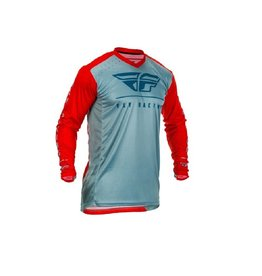 FLY RACING LITE JERSEY RED/SLATE/NAVY LG