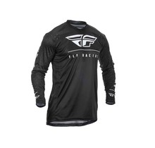 ACTION JERSEY BLACK/WHITE 2X