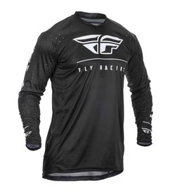 FLY RACING ACTION JERSEY BLACK/WHITE 2X