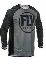 FLY RACING EVOLUTION DST JERSEY BLACK/GREY MD