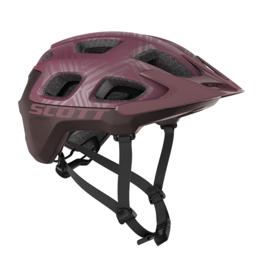 Scott Vivo Plus Helmet Cassis pink Maroon Red