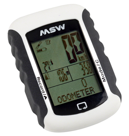 MSW MSW Miniac 333 GPS BLE Bike Computer - GPS, Wireless, White
