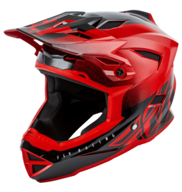 FLY RACING DEFAULT HELMET RED/BLACK YL
