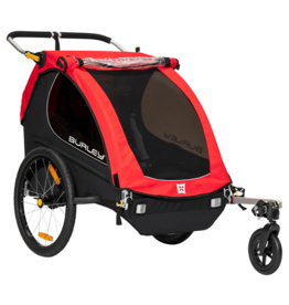 Burley Burley Honey Bee Child Trailer: Red