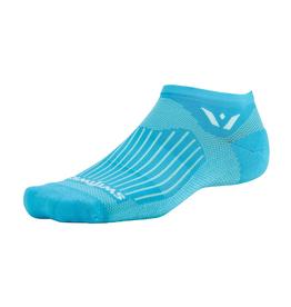 Swiftwick Swiftwick Aspire Zero Socks - No Show, Lagoon Blue, Small
