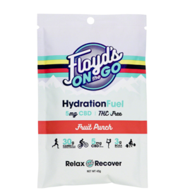 Floyd's of Leadville Floyd's of Leadville  Hydration Fuel Fruit Punch box of 6 single