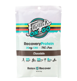 Floyd's of Leadville Floyds of leadville Chocolate Recovery Protein box of 6 single