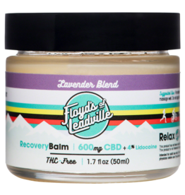 Floyd's of Leadville Floyd's of Leadville CBD Lavender Balm: Isolate (THC Free), 600mg, 50ml Container