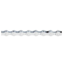 "KMC KMC S1 Chain - Single Speed 1/2"" x 1/8"", 112 Links, White"