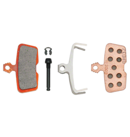 SRAM SRAM Disc Brake Pads - Sintered Compound, Steel Backed, Powerful, For Code 2011+ and Guide RE
