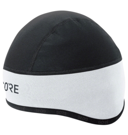 GORE GORE C3 WINDSTOPPER® Helmet Cap - White/Black, Medium