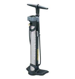 Topeak JoeBlow Booster Floor Pump - 160psi / 11bar, SmartHead DX3, Black/Gray