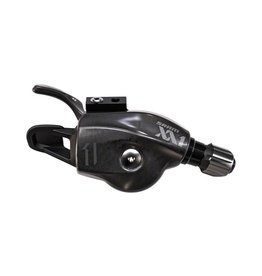 SRAM SRAM XX1 11-Speed Trigger Shifter Black Logo with Handlebar Clamp, Cable and Housing
