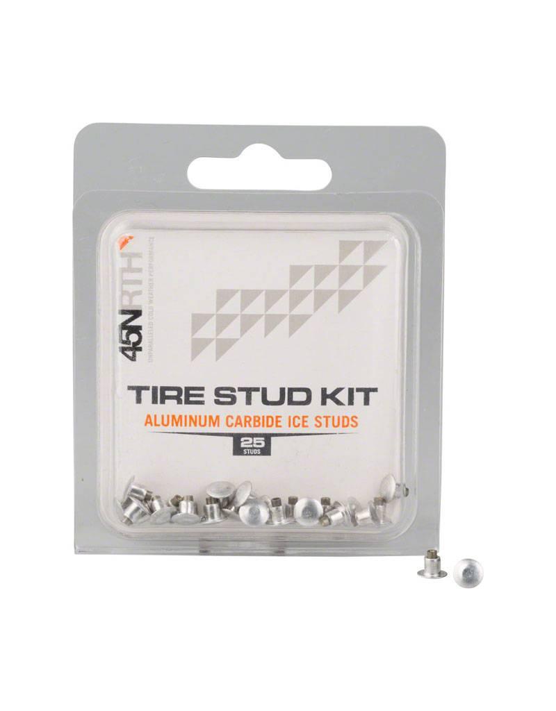 45NRTH 45NRTH Aluminum Carbide Concave Replacement Studs Pack of 25