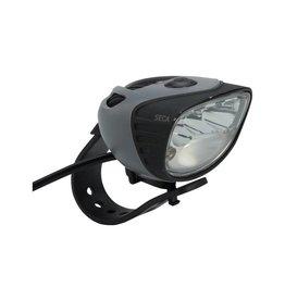 Light and Motion Seca 1800 e-Bike Headlight: Black