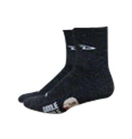 "DeFeet Woolie Boolie 4"" D-Logo Sock"