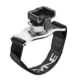Lezyne Lezyne Helmet Mount Strap for Head light: Aluminum Silver