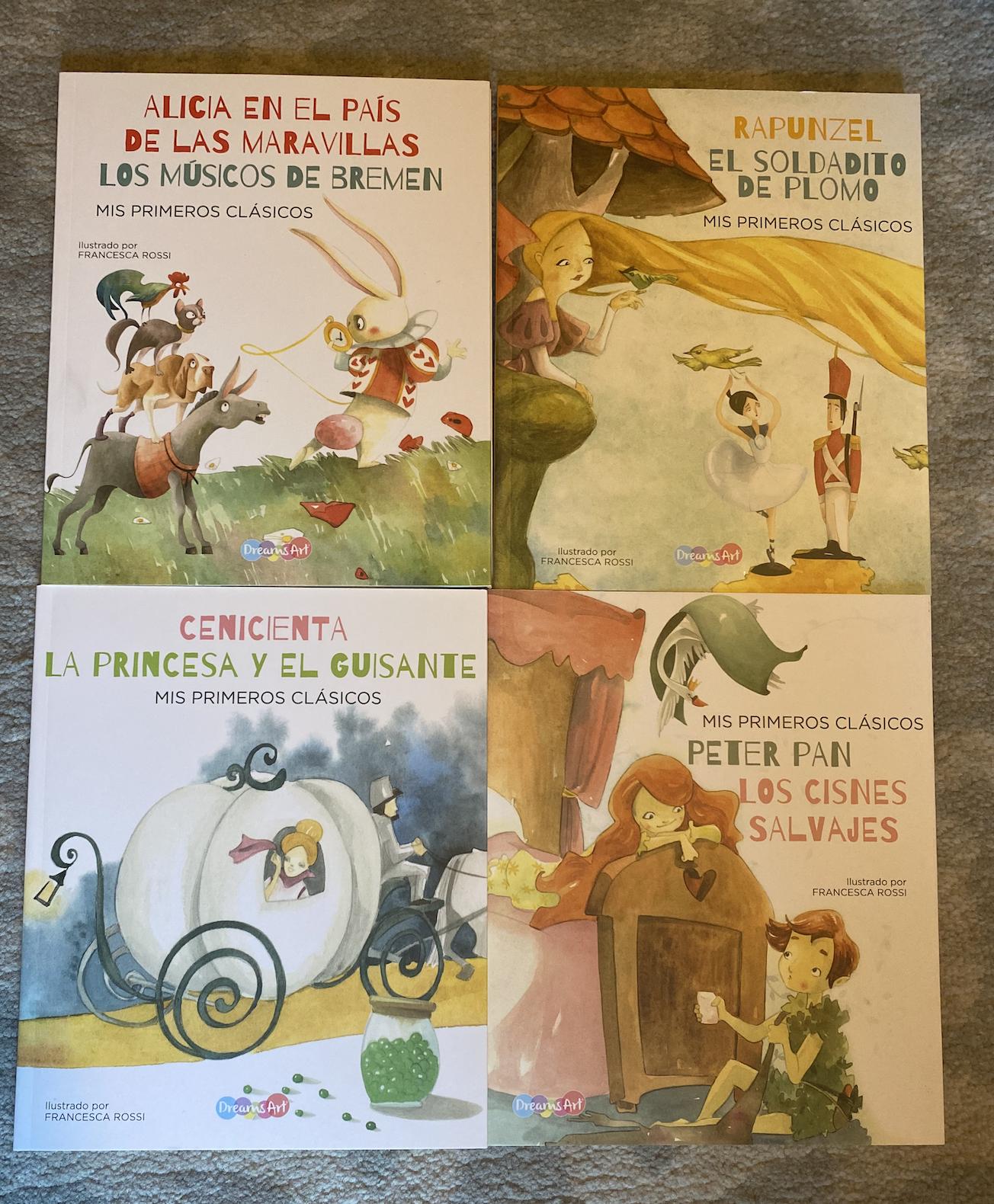 Mis Primeros Clasicos (4 books)