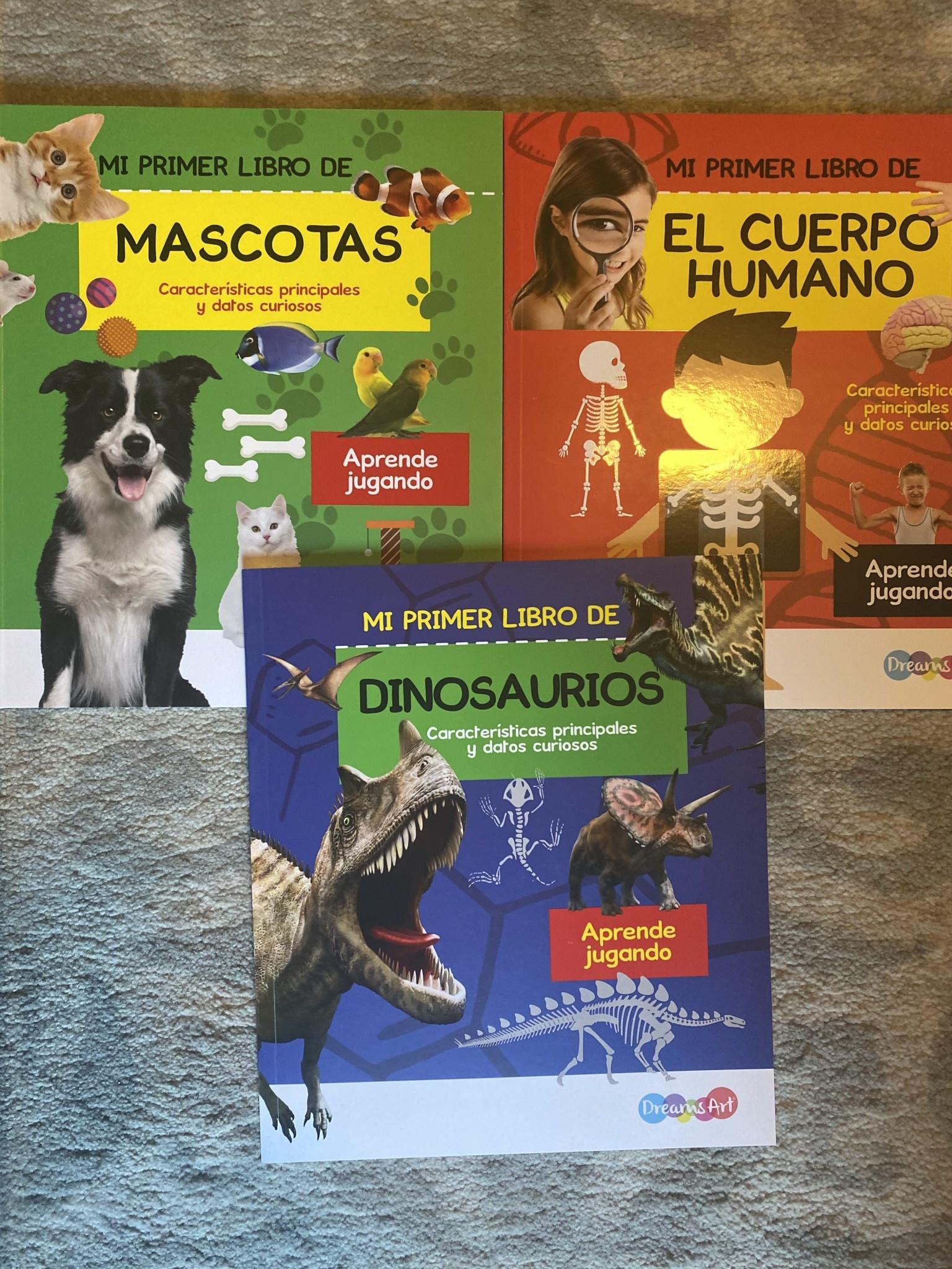 Mi primer libro de...(4 books)