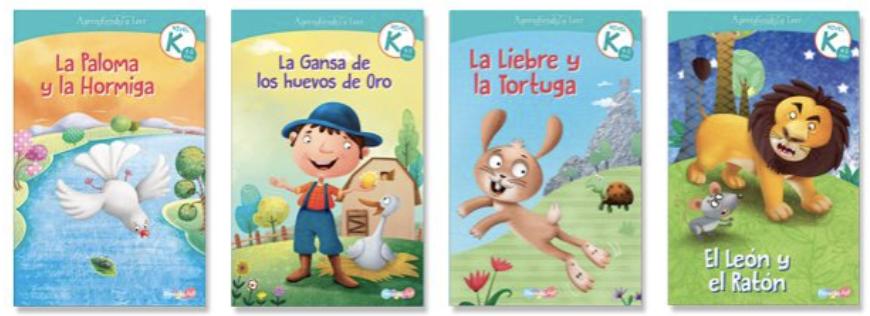 Aprendiendo a leer K (4 libros)