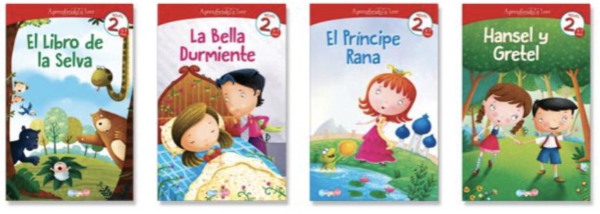 Aprendiendo a leer 2 (4 libros)