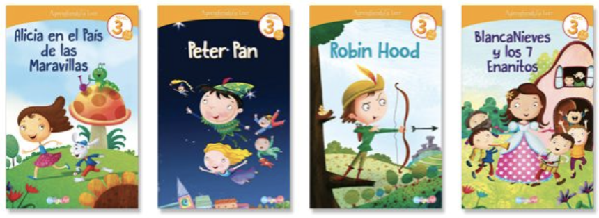 Aprendiendo a leer 3 (4 libros)