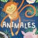 Animales divertidos para colorear