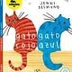 lata de sal Gato Rojo, Gato Azul