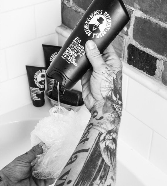 Rebels Refinery Advanced Body Wash and Shampoo