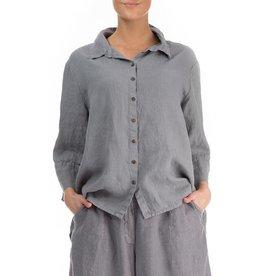 Longer Back Linen Shirt
