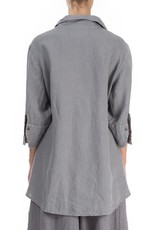 Longer Back Linen Shirt