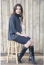 Funnel Neck Organic Cotton/Cashmere Sweater