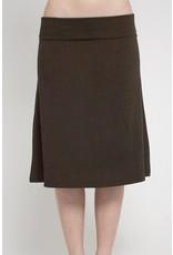 Kendra Foldover skirt