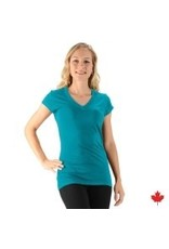 Womrn's Bamboo V-Neck Layering Top