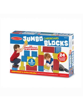 Toys & Games Melissa & Doug Jumbo Cardboard Blocks (24 pc)