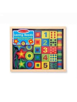 Toys & Games Melissa & Doug Lacing Beads in a Box