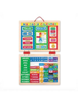 Toys & Games Melissa & Doug My Magnetic Daily Calendar