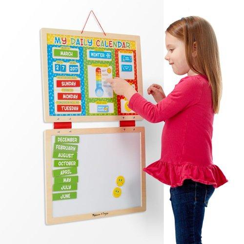 Toys & Games Melissa & Doug My Magnetic Daily Calendar