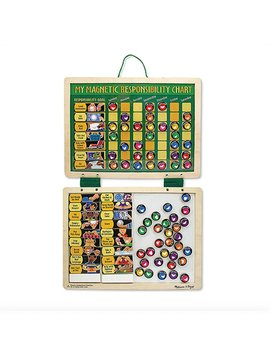 Toys & Games Melissa & Doug Magnetic Responsibility Chart