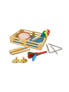 Sound & Lights Melissa & Doug Band-in-a-Box - Clap! Clang! Tap!