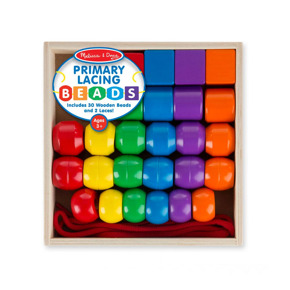 Toys & Games Melissa & Doug Primary Lacing Beads